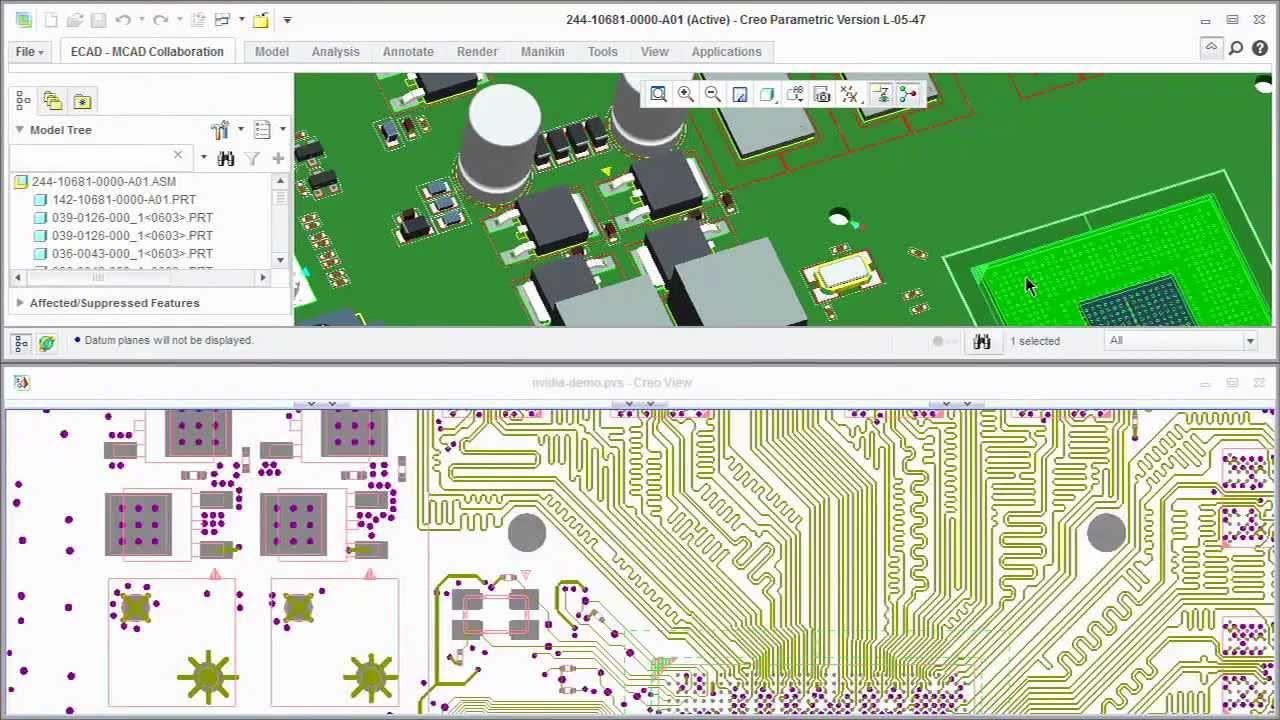 PTC Arbortext Uebungen learningexchange Lernprogramme Tutorial  Attribute in Editor 6.0 suchen und ersetzen