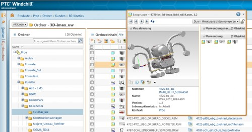 PTC Windchill PDMLink Workgroup Manager
